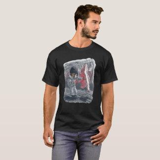 Boxer Dog Pummels Side of Beef T-Shirt