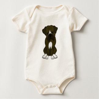 Boxer Dog Puppy Baby Bodysuit