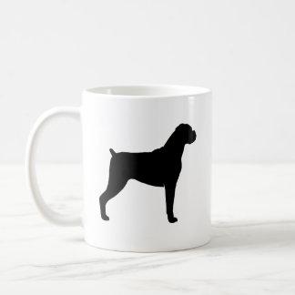 Boxer Dog Silhouettes Coffee Mug