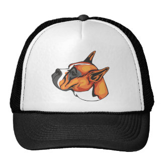 Boxer_Dog Trucker Hat