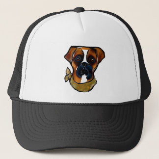 Boxer Dog Trucker Hat