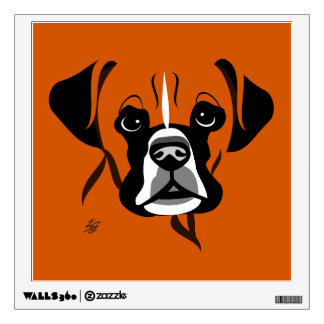 Boxer Dog Wall Art Decal