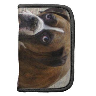 Boxer Dog Wallet Folio Folio Planners