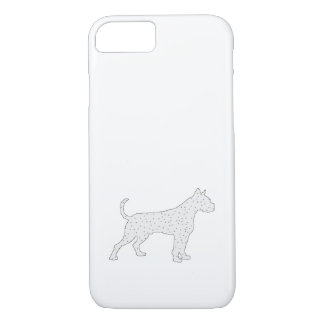 Boxer Dog Winter Art iPhone 7 Case