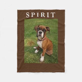 BOXER DOGS HAVE SPIRIT fleece
