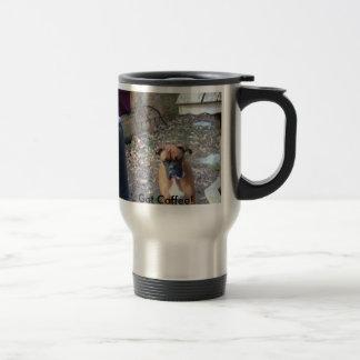 Boxer, Got Coffee! Travel Mug