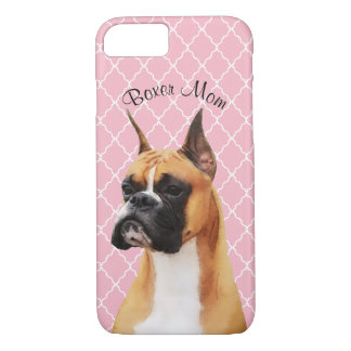 Boxer Illustrated Cell Phone Case