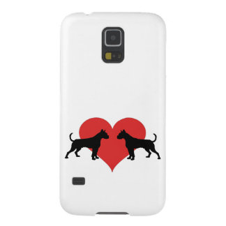 Boxer in love galaxy s5 cover