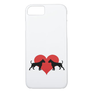 Boxer in love iPhone 7 case