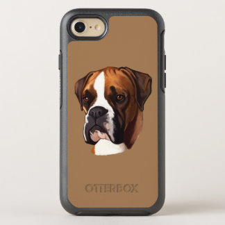 Boxer in Silhouette OtterBox Symmetry iPhone 7 Case