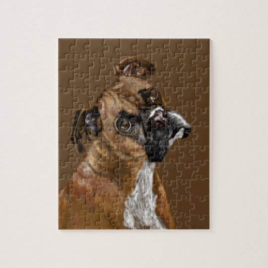 Boxer Jigsaw Puzzle