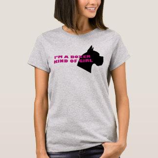 Boxer kind of girl T-Shirt