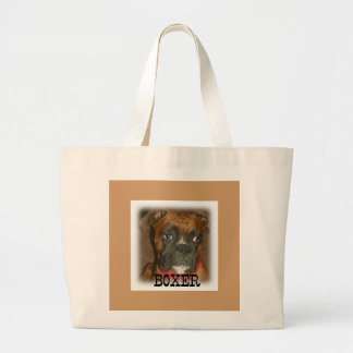 Boxer Large Tote Bag