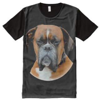 Boxer Looking All-Over-Print T-Shirt