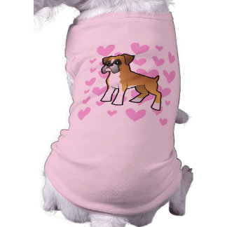 Boxer Love Dog T-shirt