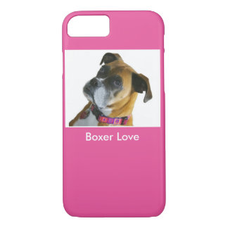 Boxer Love iPhone Case