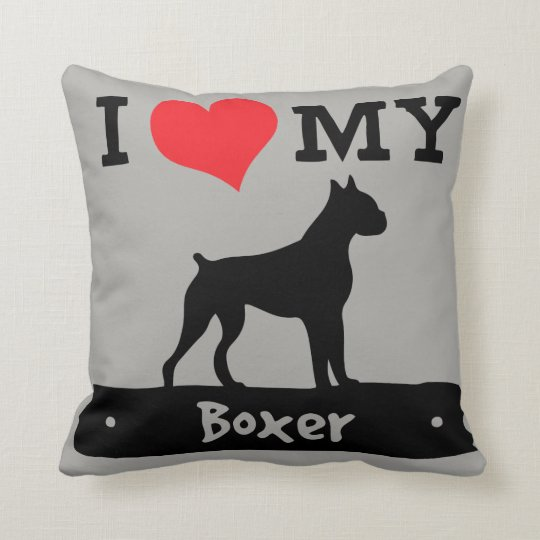 Boxer Love Pillow by Mini Brothers