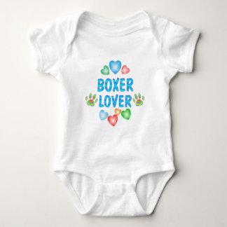 BOXER LOVER BABY BODYSUIT