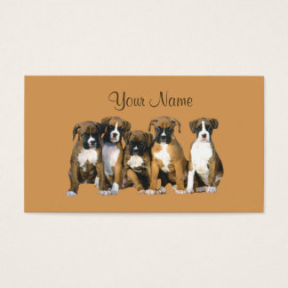 Boxer Lover Business Card