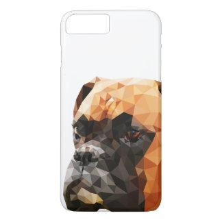 Boxer Low Poly Art iPhone 8 Plus/7 Plus Case