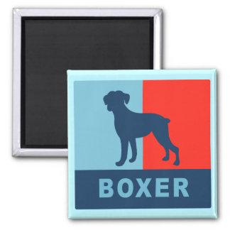 Boxer Magnet Square