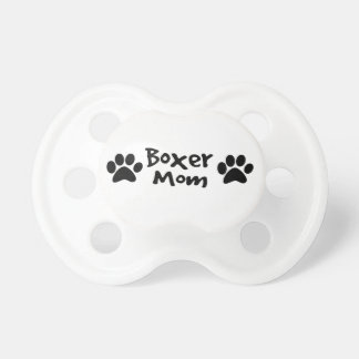 boxer mom baby pacifiers