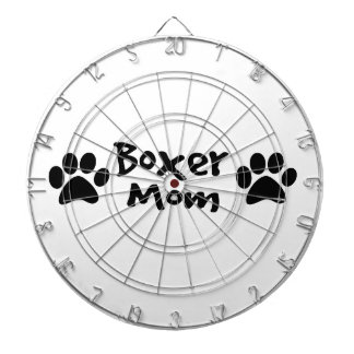 boxer mom dartboard