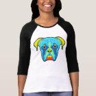 Boxer Pattern Pop Art T-Shirt