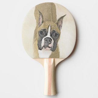 Boxer Ping-Pong Paddle