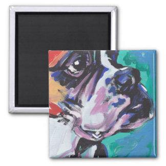 Boxer Pop  Art Magnet