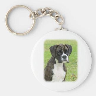 Boxer pup 9R014D-291 Keychain