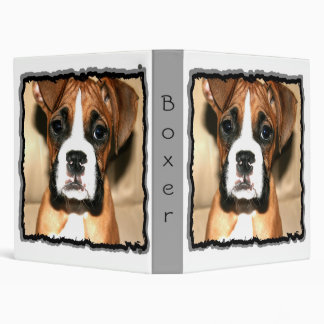 Boxer puppy Binder