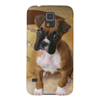 Boxer Puppy Cases For Galaxy S5