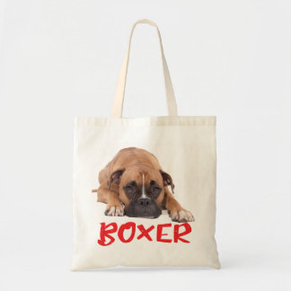 Boxer Puppy Dog Red Boxers Red Love Tote Bag