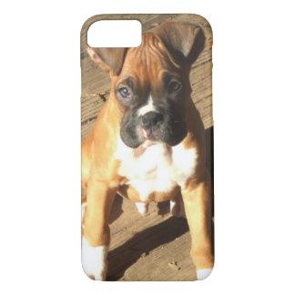 Boxer puppy iPhone 8 case