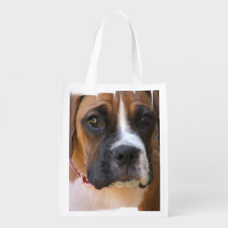 Boxer Rescue Reusable Grocery Bag