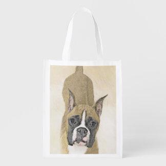 Boxer Reusable Grocery Bag