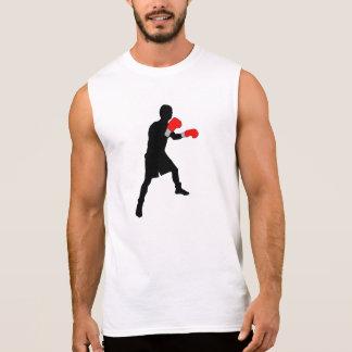 Boxer Silhouette Sleeveless Shirt