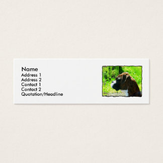 Boxer skinny Business Cards