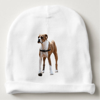 Boxer Standing Tall Baby Beanie