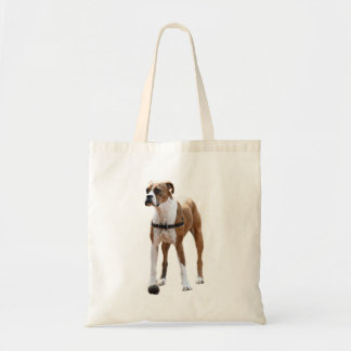 Boxer Standing Tall Tote Bag