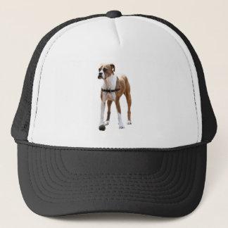 Boxer Standing Tall Trucker Hat