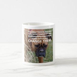 Boxer Thoughts Coffee Mug
