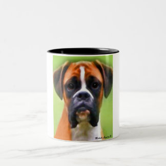 boxer Two-Tone coffee mug