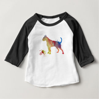 Boxer with toy baby T-Shirt