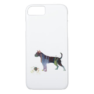Boxer with toy iPhone 7 case