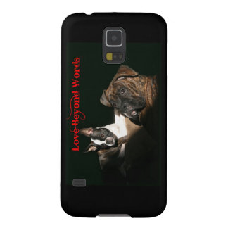 Boxers and Bostons:  Love Beyond Words Galaxy S5 Cover