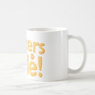 Boxers Rule! Classic White Coffee Mug
