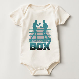 boxers sparring baby bodysuit