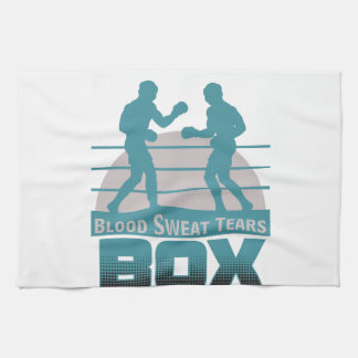 boxers sparring kitchen towel